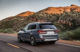 BMW X7, 2018, rear