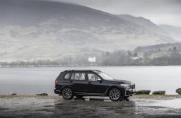 BMW X7 M50d, 2019, side