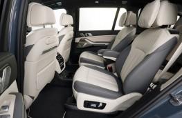 BMW X7 Dark Shadow Edition, 2020, rear seats