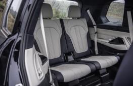 BMW X7 M50d, 2019, rear seats