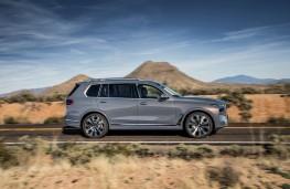 BMW X7, 2018, side