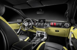 Mercedes-Benz Concept X-Class, powerful adventurer, interior
