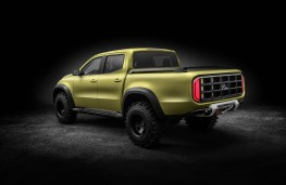 Mercedes-Benz Concept X-Class, powerful adventurer, rear