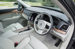 Volvo XC90, grey, interior