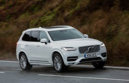Volvo XC90 D5 Power Pulse, side, action