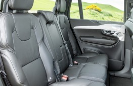 Volvo XC90, white, seats
