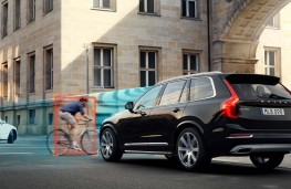 Volvo XC90, cyclist detection
