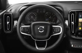 Volvo XC40, 2018, dashboard