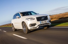 Volvo XC90 R-Design, front, action