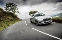 Volvo XC60, front, action