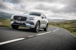 Volvo XC60, 2017, front, action