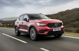 Volvo XC40 First Edition, 2018, front, action