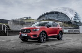 Volvo XC40 First Edition, 2018, front, static