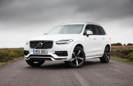 Volvo XC90 R-Design, front, static