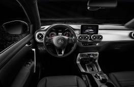 Mercedes-Benz X 350 d, 2018, interior