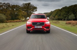 Volvo XC90 R-Design, nose