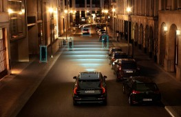 Volvo XC90, night safety
