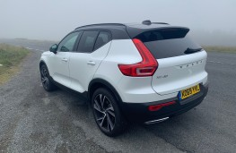 Volvo XC40 Recharge Plug-in Hybrid T5 FWD R-Design Pro, 2020, rear, static