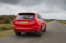 Volvo XC90 R-Design, rear