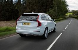 Volvo XC90 R-Design, rear, action