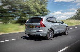 Volvo XC60, 2017, rear, action