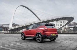 Volvo XC40 First Edition, 2018, rear, static