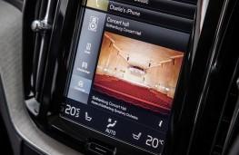 Volvo XC60, 2017, Sensus display screen, concert
