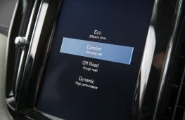 Volvo XC60, 2017, Sensus display screen, drive mode