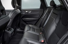 Volvo XC60, rear seats