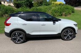 Volvo XC40 Recharge Plug-in Hybrid T5 FWD R-Design Pro, 2020, side