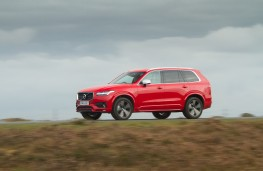 Volvo XC90 R-Design, side