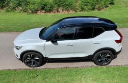 Volvo XC40 Recharge Plug-in Hybrid T5 FWD R-Design Pro, 2020, side, overhead