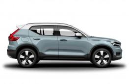 Volvo XC40, 2017, side