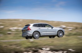 Volvo XC60, side, action