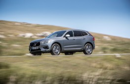 Volvo XC60, 2017, side, action