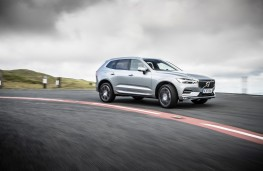 Volvo XC60, side, action, cornering
