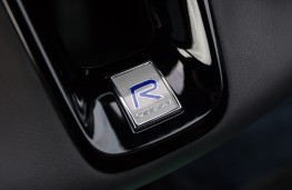 Volvo XC90 R-Design, steering wheel logo