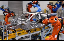 Jaguar XE in production at Solihull Land Rover factory