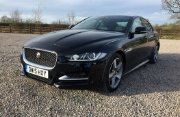 Jaguar XE SV Project 8, 2017, front