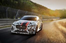 Jaguar XE SV Project 8, 2017, front, action