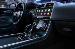 Jaguar XE, 2019, gear lever