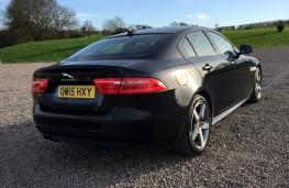 Jaguar XE R-Sport, rear