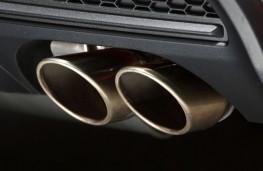 Fiat 500X Sport, 2019, exhaust