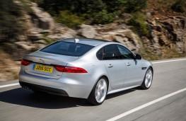 Jaguar XF, rear