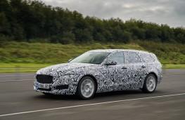 Jaguar XF Sportbrake, 2017, camouflaged