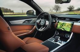 Jaguar XF, 2021, interior