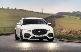 Jaguar XF, 2021, front