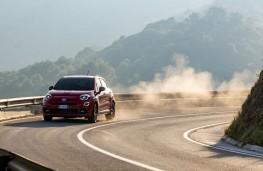 Fiat 500X Sport, 2019, front, cornering
