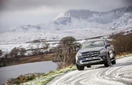 Mercedes-Benz X-Class, 2017, front, snow