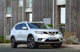 Nissan X-Trail, 2016, front, static